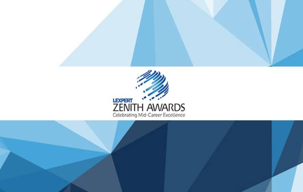 2018 Lexpert Zenith Awards